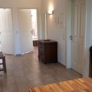 Eingangsbereich Ferienwohnung Schwalbennest